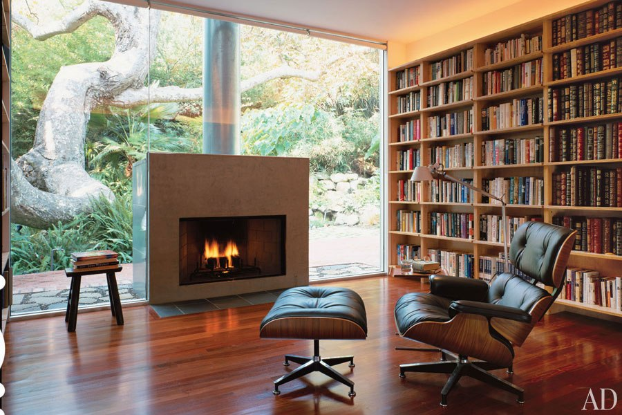 Home libraries – The house that Jess built.